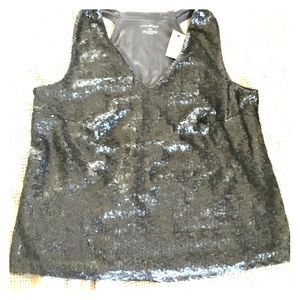 Lane Bryant Sparkle dress tank